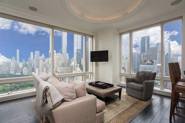 Manhattan harga real estat untuk 1 Central Park Barat