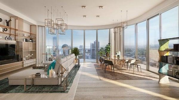 Flatiron Penthouse Miami condos for sale Brickell