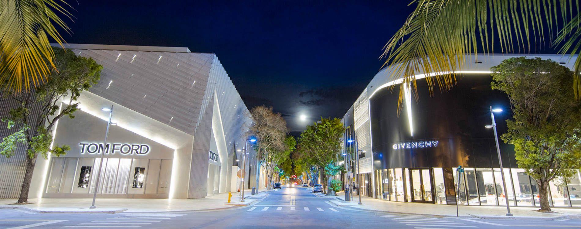 Givenchy Tom Ford Miami desain distrik