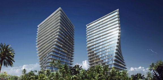 Bangunan mewah di Miami