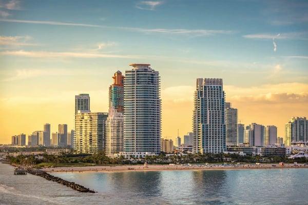 Miami Beach atau Downtown Miami Real estat