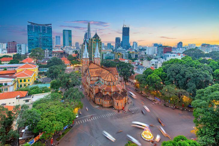 Saigon Kota Ho Chi Minh