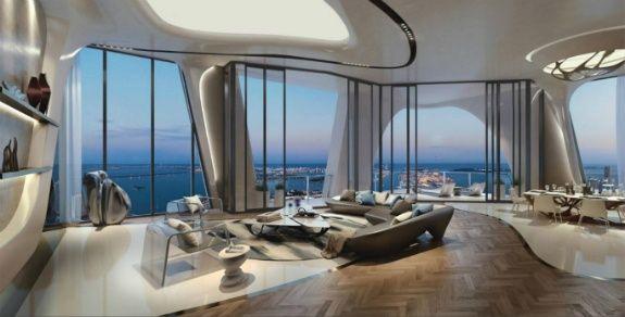 Zaha Hadid Bangunan mewah di Miami